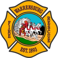 Warrensburg Fire Rescue logo w horses